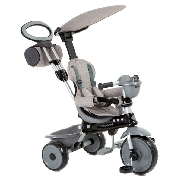 Tricicleta Pentru Copii Beep Me Grey Melange