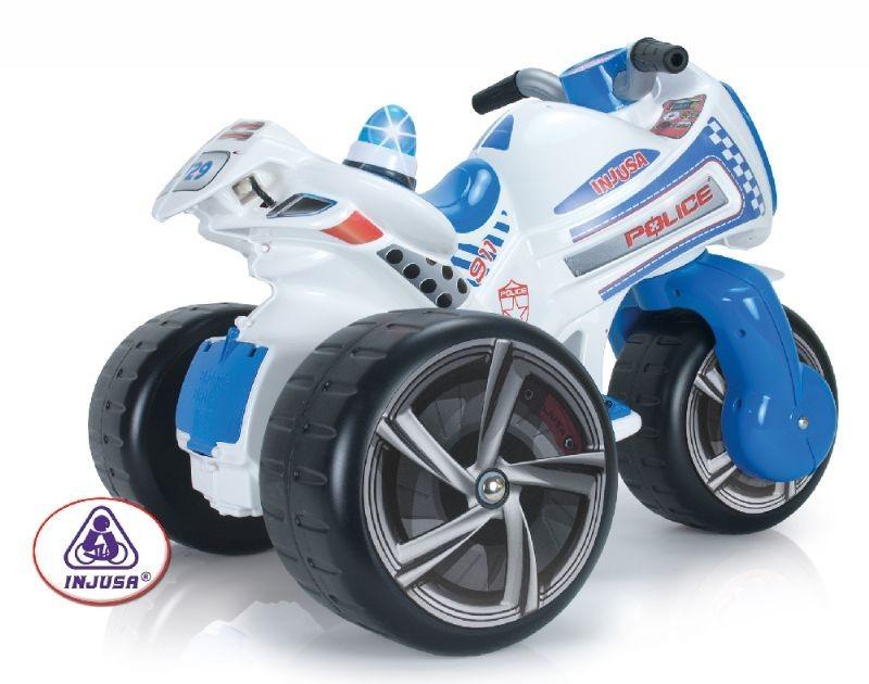 Motocicleta Trimoto Injusa Waves Police 6v
