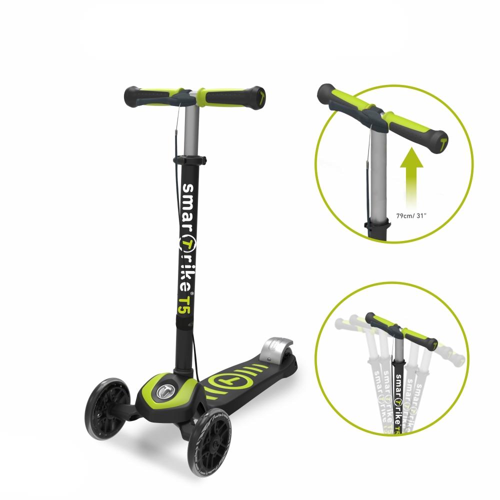 Trotineta pentru copii Smart Trike T5 Green imagine