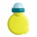 Babypote recipient piure din silicon Neon Blue
