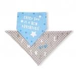 Baveta triunghi Baby Ono tip esarfa 2buc/set 04
