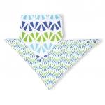 Baveta triunghi tip esarfa 2buc/set 06
