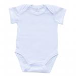 Body B04 basic alb 1-3 luni (56 cm)