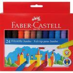Carioci Jumbo Faber-Castell 24 culori