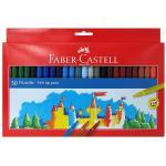 Carioci Faber-Castell 50 culori