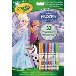 Carte de colorat si activitati Frozen