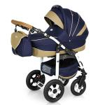 Carucior 3 in 1 Ride Dark Blue