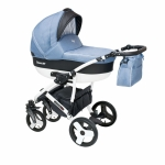 Carucior copii 3 in 1 Carera New Camarelo color CAN-6