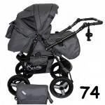 Carucior multifunctional Kerttu Twist-R 74 grafit