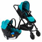 Carucior transformabil 3 in 1 Allure Blue