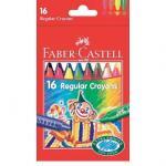 Creioane cerate clown Faber-Castell 16 culori