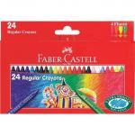 Creioane cerate clown Faber-Castell 24 culori