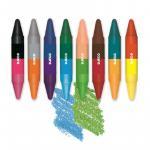 Creioane de colorat  duble