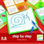 Deseneaza pas cu pas animale &co Djeco