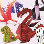 Dragoni din hartie Djeco