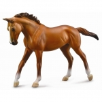 Figurina Cal Thoroughbred Mare Chestnut Deluxe