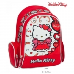 Ghiozdan scoala Hello Kitty I love you 30x38x12 cm