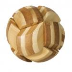 Joc logic IQ din lemn bambus Ball