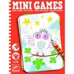 Mini games Djeco deseneaza punct cu punct