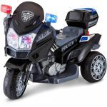 Motocicleta electrica cu doua motoare Police Hero Black