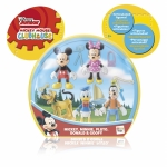 Pachet de 5 figurine articulate (Mickey Mouse, Minnie, Pluto, Donald, Goofy)