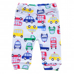 Pantaloni P02 print masinuta 3-6 luni (62 cm)