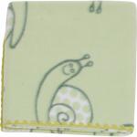 Paturica bebelusi colorata Polar Fleece 90 x 80 cm Womar Zaffiro PT-PF-02