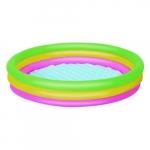 Piscina gonflabila cu 3 inele colorate