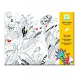Plansa tablou desen - Balul florilor