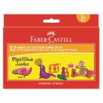 Plastilina 12 Culori Neon Faber-Castell