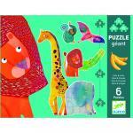 Puzzle gigant - animale jungla