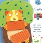 Puzzle lemn - Copacelul vesel