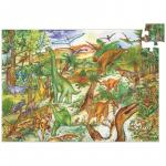 Puzzle observaie Djeco  Dinozauri