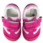 Pantofiori bebelusi Suede Fuchsia Trainers 22