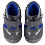 Pantofiori bebelusi Suede Grey Trainers 22