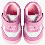 Pantofiori bebelusi Suede Pink Trainers 20