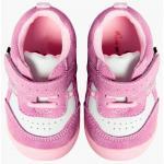 Pantofiori bebelusi Suede Pink Trainers 21