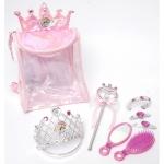 Rucsac cu accesorii pentru par Disney Princess