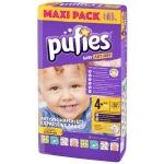Scutece Pufies Baby Art 4+ maxi+ Maxi Pack 52 buc