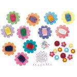 Set bratari florale Faber-Castell 0