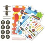 Set creativ masini de curse Faber-Castell 0