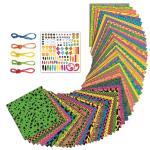 Set origami neon