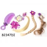 Set accesorii pentru par Rapunzel