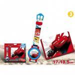 Set cadou ceas mana portofel Cars