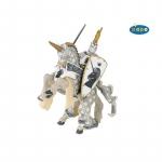 Set figurine Papo  Cavalerul unicorn calare