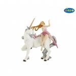 Set figurine Papo  Zana roz unicorn argintiu