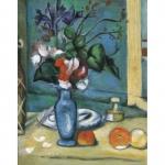 Set pictura pe panza  Vaza albastra