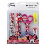 Set rechizite 9ps Minnie Mouse