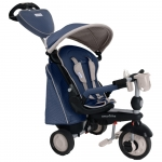Tricicleta 5 in 1 Smart Trike Recliner Infinity Blue