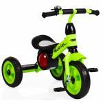 Tricicleta cu roti din cauciuc Byox Bonfire Green